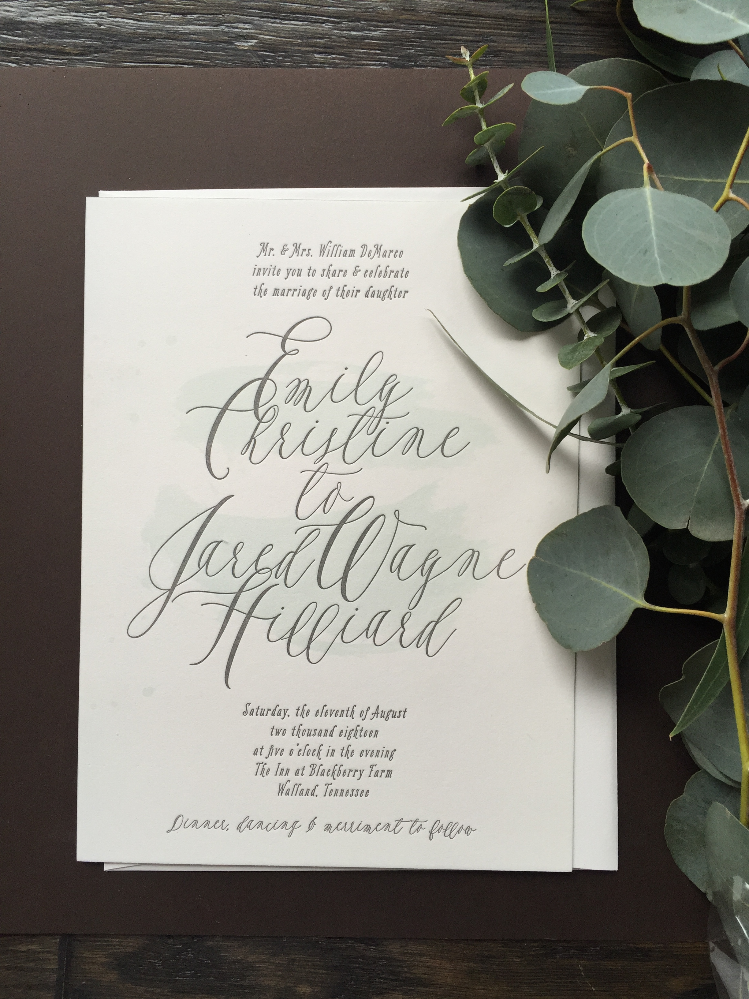 Wedding Stationery Seattle - Paper Delights